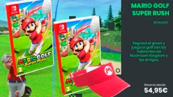 Vuelve al green con Mario Golf: Super Rush: reserva ya disponible