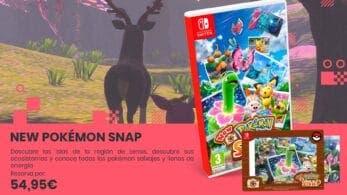 Investiga y fotografía a tus Pokémon favoritos con New Pokémon Snap: Reserva disponible