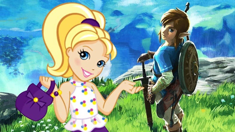 Unen Zelda: Breath of the Wild y Polly Pocket creando un resultado simplemente genial