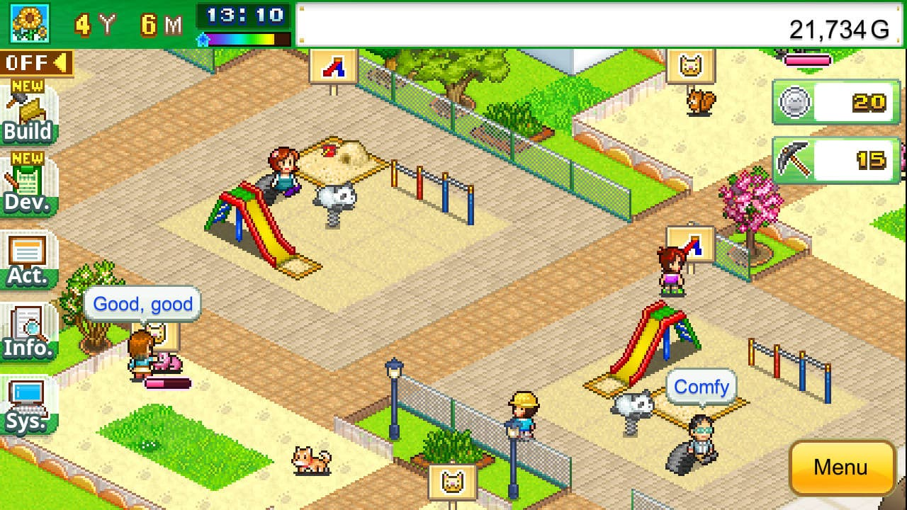 Mega Mall Story 2 y Wild Park Manager llegan este 25 de marzo a Nintendo Switch