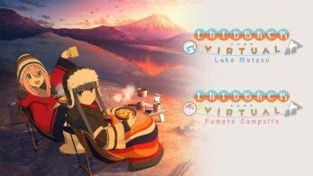 Laid-Back Camp -Virtual- Lake Motosu llegará el 4 de marzo a Nintendo Switch