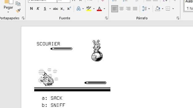 Así es Fontemon, un juego estilo Pokémon que ya puedes jugar desde una fuente tipográfica