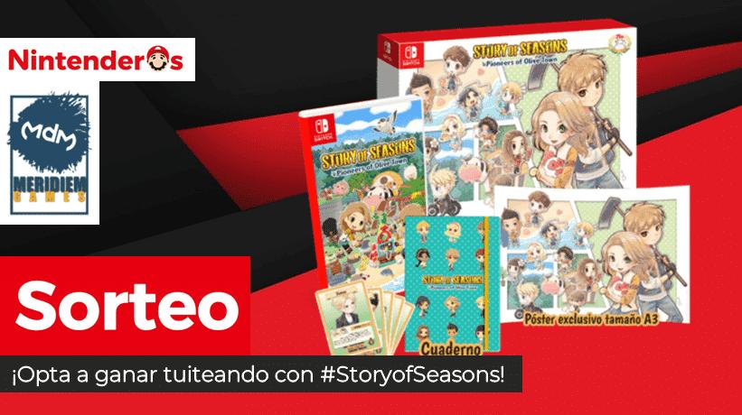 [Act.] ¡Sorteamos una Edición Deluxe de Story of Seasons: Pioneers of Olive Town para Nintendo Switch!