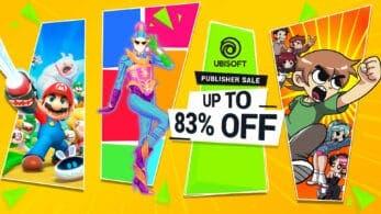 La Ubisoft Spring Savings Publisher Sale llega a la eShop americana de Nintendo Switch con descuentos de hasta el 83%