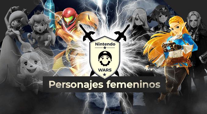 Ronda Final de Nintendo Wars: Personajes femeninos de Nintendo: ¡Samus vs. Zelda!