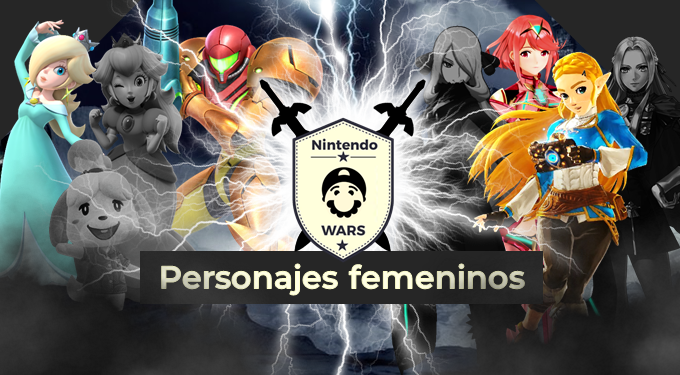 Tercera Ronda de Nintendo Wars: Personajes femeninos de Nintendo: ¡Vota ya por las 4 clasificadas!