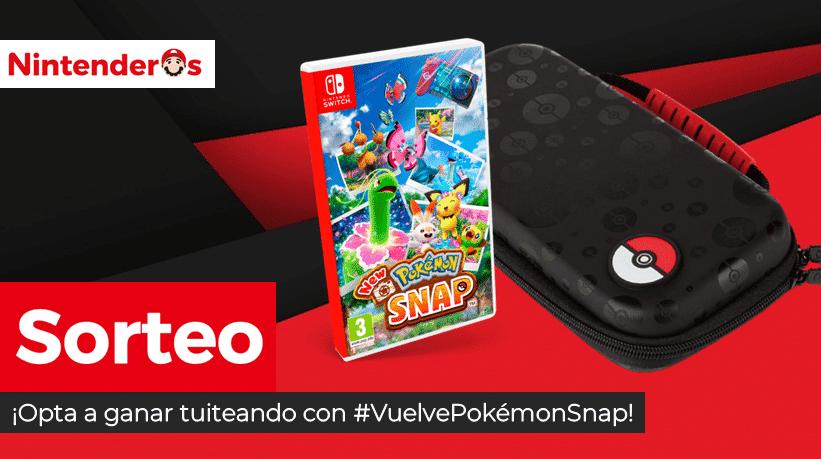 [Act.] ¡Sorteamos una copia de New Pokémon Snap + bolsa de transporte oficial para Nintendo Switch!