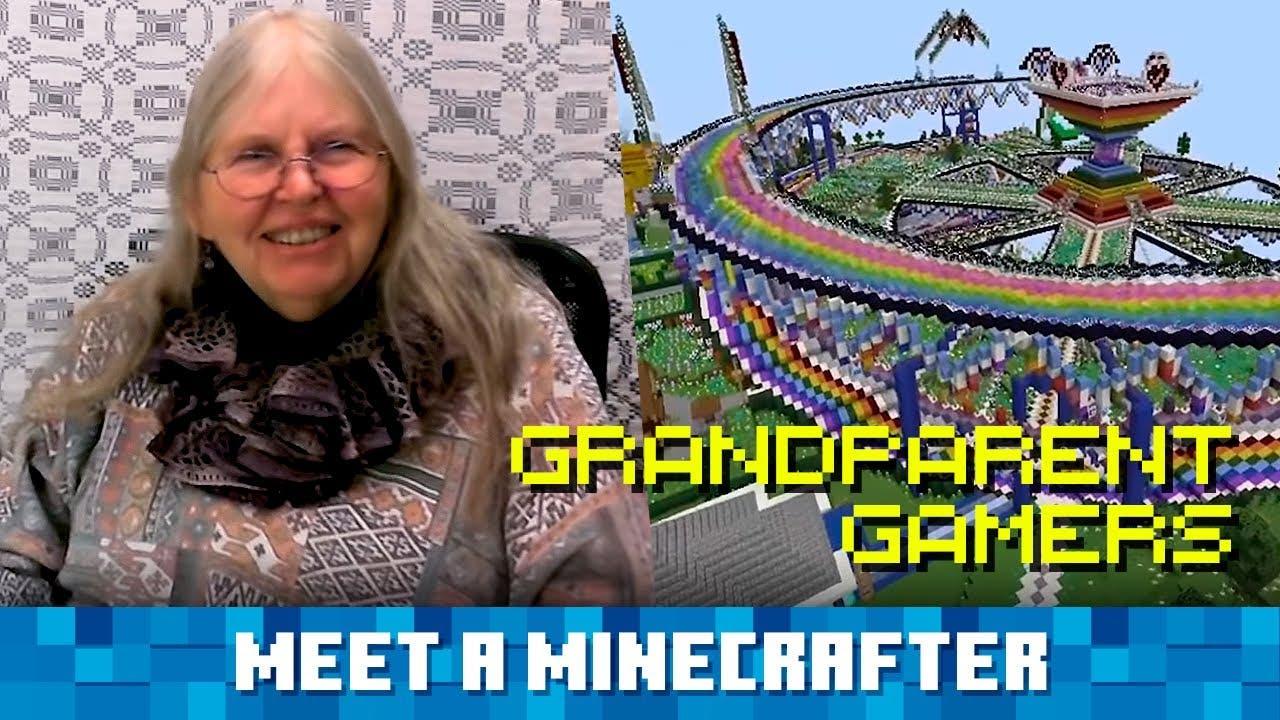 Minecraft comparte un nuevo vídeo oficial protagonizado por abuelos que son fans del juego