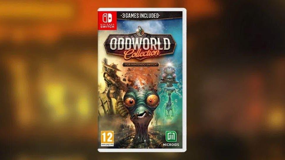 Oddworld: Collection aparece listado en formato físico para Nintendo Switch en Europa