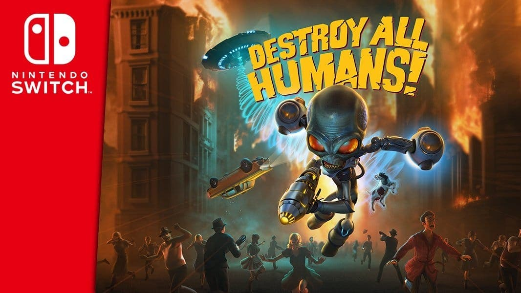 Destroy All Humans! confirma remake para Nintendo Switch: disponible el 29 de junio