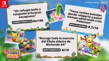 Nintendo España comparte en Twitter algunas de las reseñas de la prensa a New Pokémon Snap