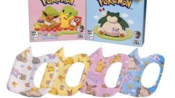 Echad un vistazo a estas mascarillas de Pokémon que están a la venta en Taiwán