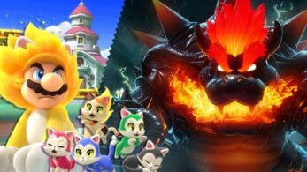 Espíritus de Super Mario 3D World + Bowser's Fury llegan este viernes a Super Smash Bros. Ultimate