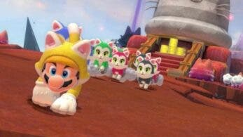 Se proponen y consiguen reunir el mayor número de gatos en Super Mario 3D World + Bowser's Fury