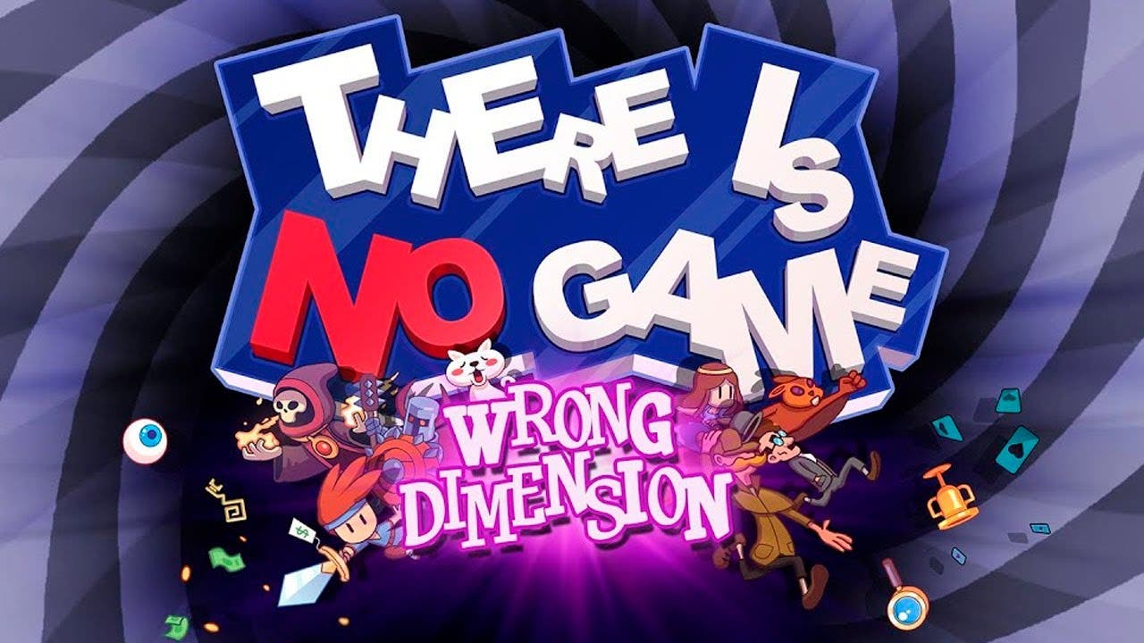 Gameplay del «no-juego» There Is No Game: Wrong Dimension en Nintendo Switch