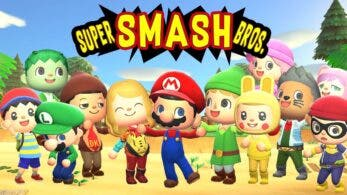 Recrean la intro de Super Smash Bros. en Animal Crossing: New Horizons