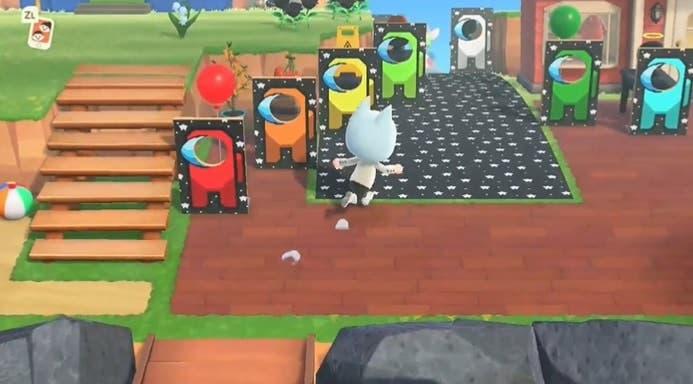 Recrean el mapa The Skeld de Among Us en Animal Crossing: New Horizons