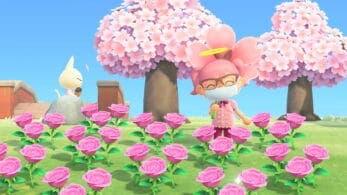A los gatos reales parecen encantarles los pétalos de cerezo de Animal Crossing: New Horizons: este vídeo lo demuestra