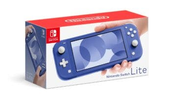 Nintendo anuncia una nueva Switch Lite de color azul