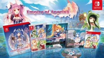 Empire of Angels IV ha sido anunciado para Nintendo Switch