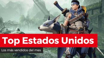 Ventas en Estados Unidos durante marzo de 2021: Monster Hunter Rise debuta en segunda posición y Nintendo Switch sigue arrasando
