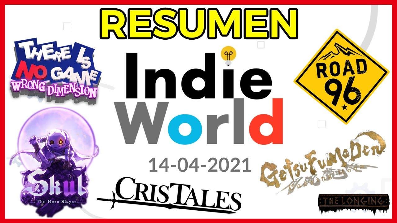 [Vídeo] Repaso en imagen y vídeo a todo lo anunciado ayer en el Indie World Showcase de Nintendo, ofertas y más