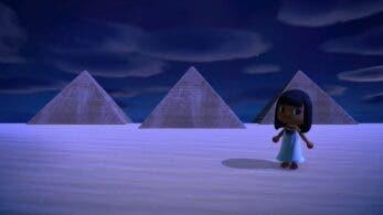 Ya puedes visitar este espectacular oasis egipcio en Animal Crossing: New Horizons