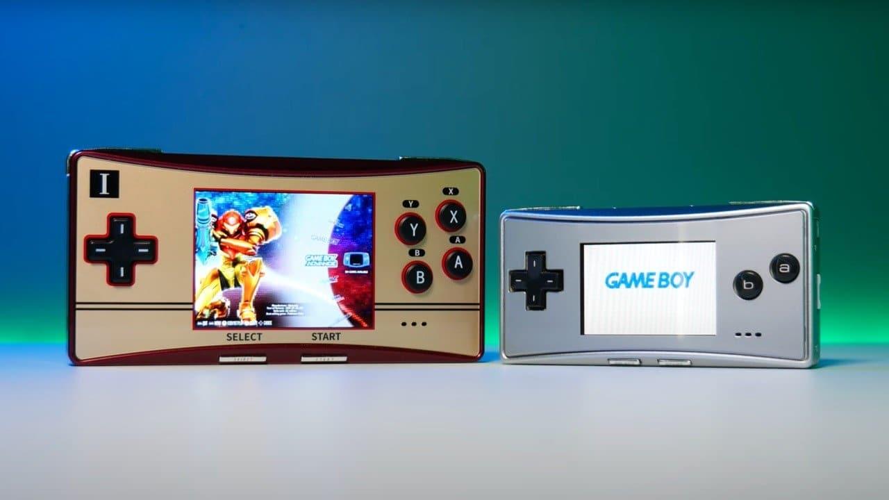 Así es Waveshare GPM280, un clon chino de Game Boy Micro