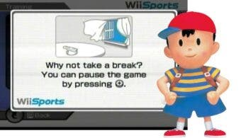La pantalla de «¿Por qué no te tomas un descanso?» de Wii está inspirada en EarthBound