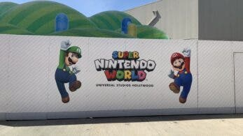 Vídeo nos muestra cómo avanza la construcción de Super Nintendo World en Universal Studios Hollywood