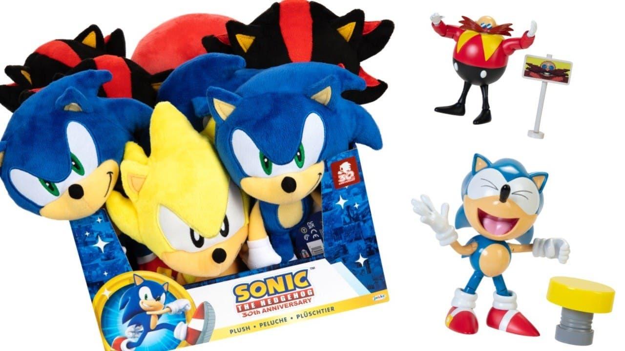 SEGA y Jakks Pacific anuncian más productos oficiales de Sonic the Hedgehog de cara a 2022