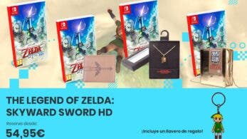Descubre el origen de la Espada Maestra con The Legend of Zelda: Skyward Sword HD: reserva disponible