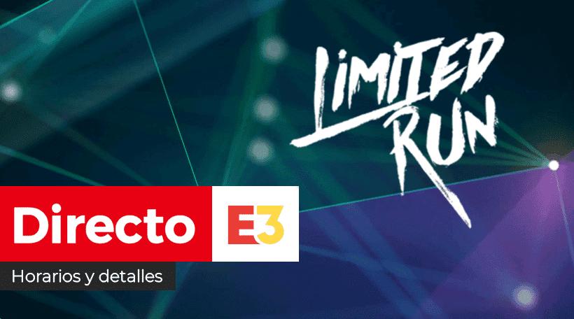 [Act.] ¡Empieza en breve! Sigue aquí en directo el evento de Limited Run Games del E3 2021