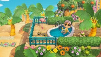 Nuevo y sencillo glitch nos permite sentarnos en piscinas en Animal Crossing: New Horizons