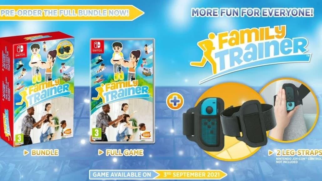 Bandai Namco anuncia Family Trainer para Nintendo Switch en Occidente: disponible el 3 de septiembre