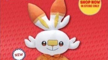 Scorbunny se unirá a la gama de peluches Pokémon oficiales de Build-a-Bear el 6 de mayo