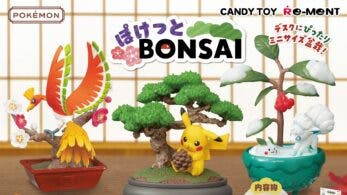 Echad un vistazo a los flotadores y las nuevas colecciones de figuras Pokémon de Re-ment: Pokémon Bonsai y Dreaming Case 3