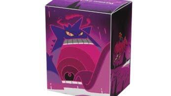 James Turner confirma que diseñó el arte de Gengar Gigamax de estas fundas y caja de cartas de Pokémon