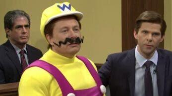 Elon Musk disfrazado de Wario da la nota junto a otros personajes de Super Mario en Saturday Night Live
