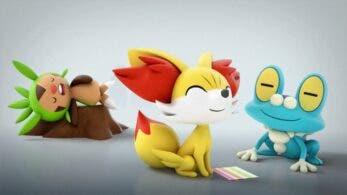 Los Pokémon iniciales de Kalos protagonizan este nuevo corto del 25º aniversario de Pokémon
