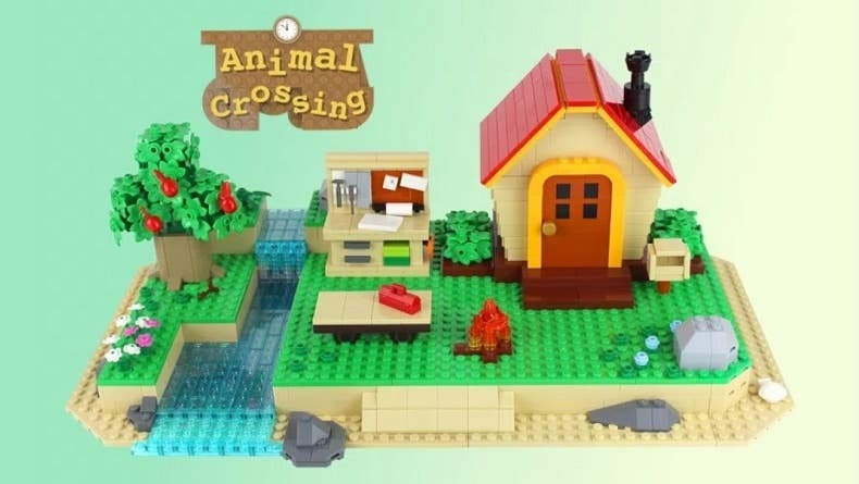 Echad un vistazo a estas propuestas de LEGO Ideas inspiradas en Zelda, Metroid, Among Us y Animal Crossing