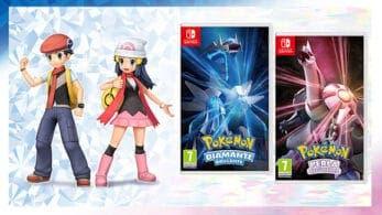 Pokémon Diamante Brillante y Perla Reluciente lanza nuevos detalles e imágenes: multijugador y más