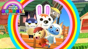 Recrean la intro de El asombroso mundo de Gumball en Animal Crossing: New Horizons