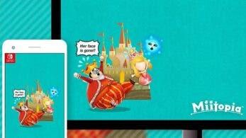 My Nintendo añade este fondo de pantalla de Miitopia a su catálogo americano