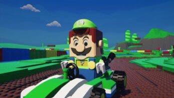 Estos vídeos nos muestran cómo luciría un juego de LEGO Mario Kart