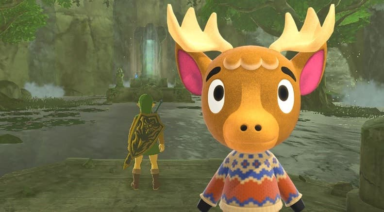 Recrean la Fuente del Poder de Zelda: Breath of the Wild con el glitch del agua de Animal Crossing: New Horizons
