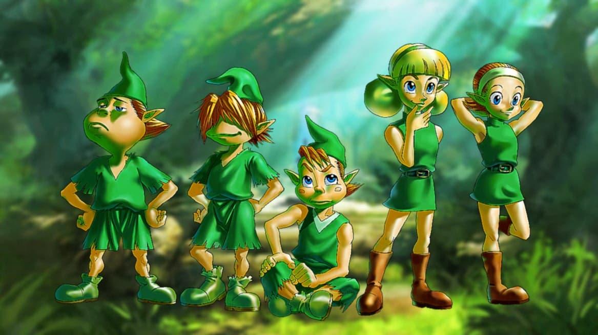 Así es cómo los Kokiri de Zelda: Ocarina of Time se convirtieron en los Kologs de Breath of the Wild