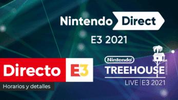 Sigue aquí en directo el Nintendo Direct + Nintendo Treehouse: Live de Nintendo en el E3 2021