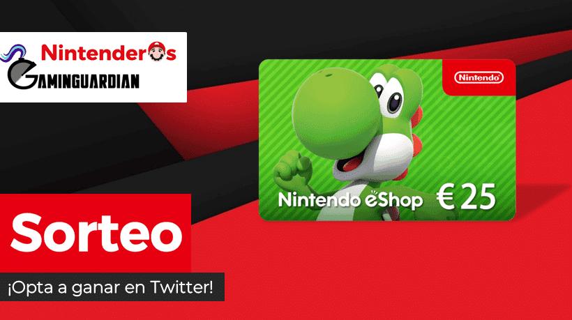 [Act.] ¡Sorteamos otra tarjeta para la Nintendo eShop de 25€ junto a GaminGuardian!