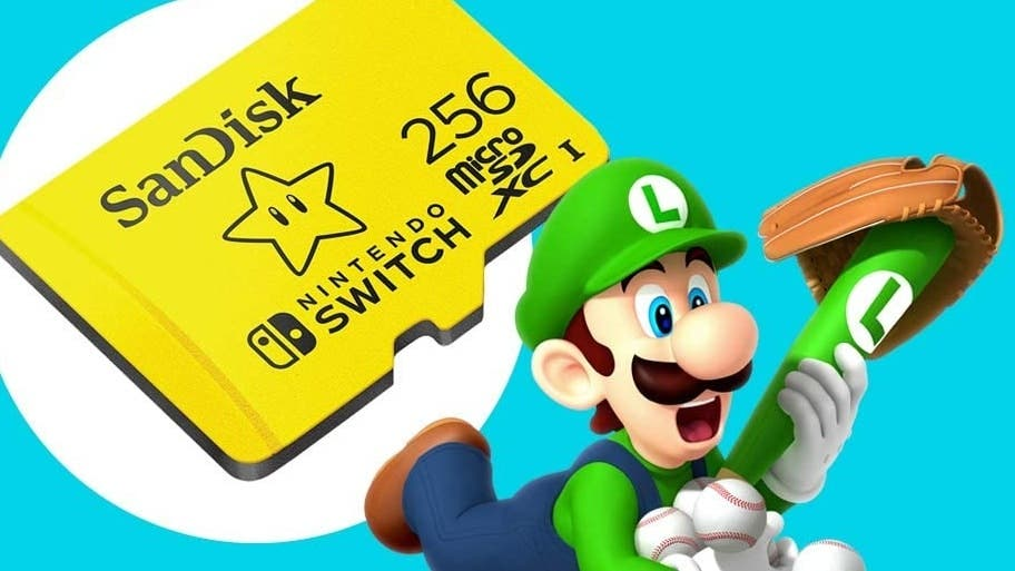 Las tarjetas microSD oficiales para Nintendo Switch, disponibles con un importante descuento en Amazon